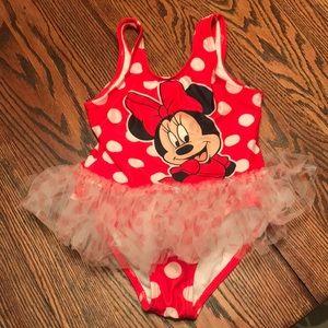 Toddler girl swimsuit.